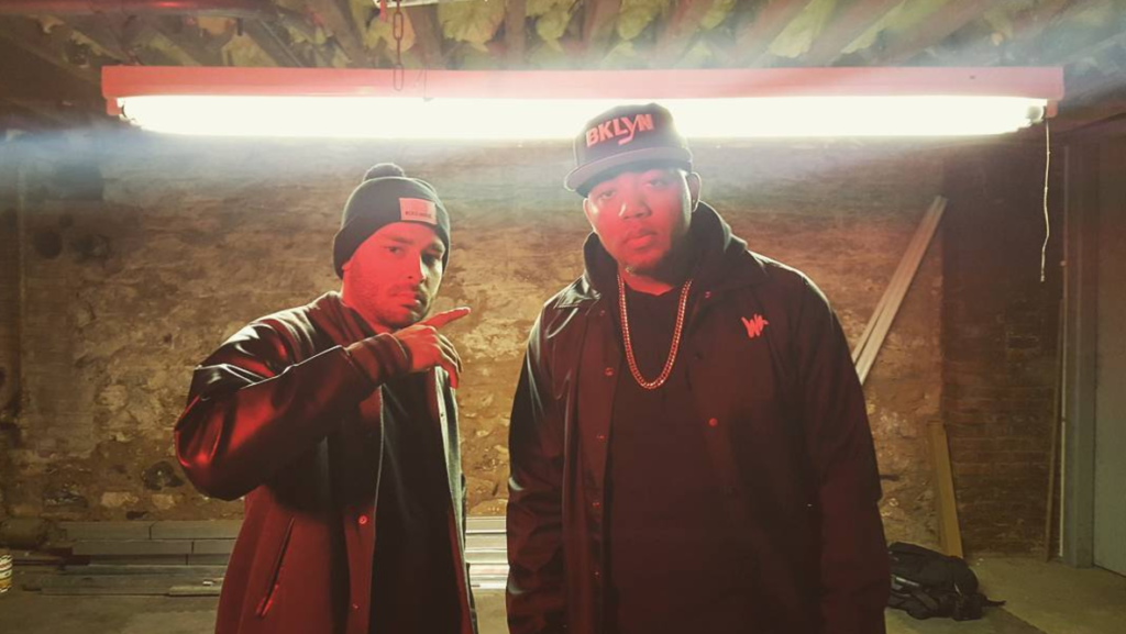"Hex One and Skyzoo link up in Brooklyn for ""Peep The Steez"""